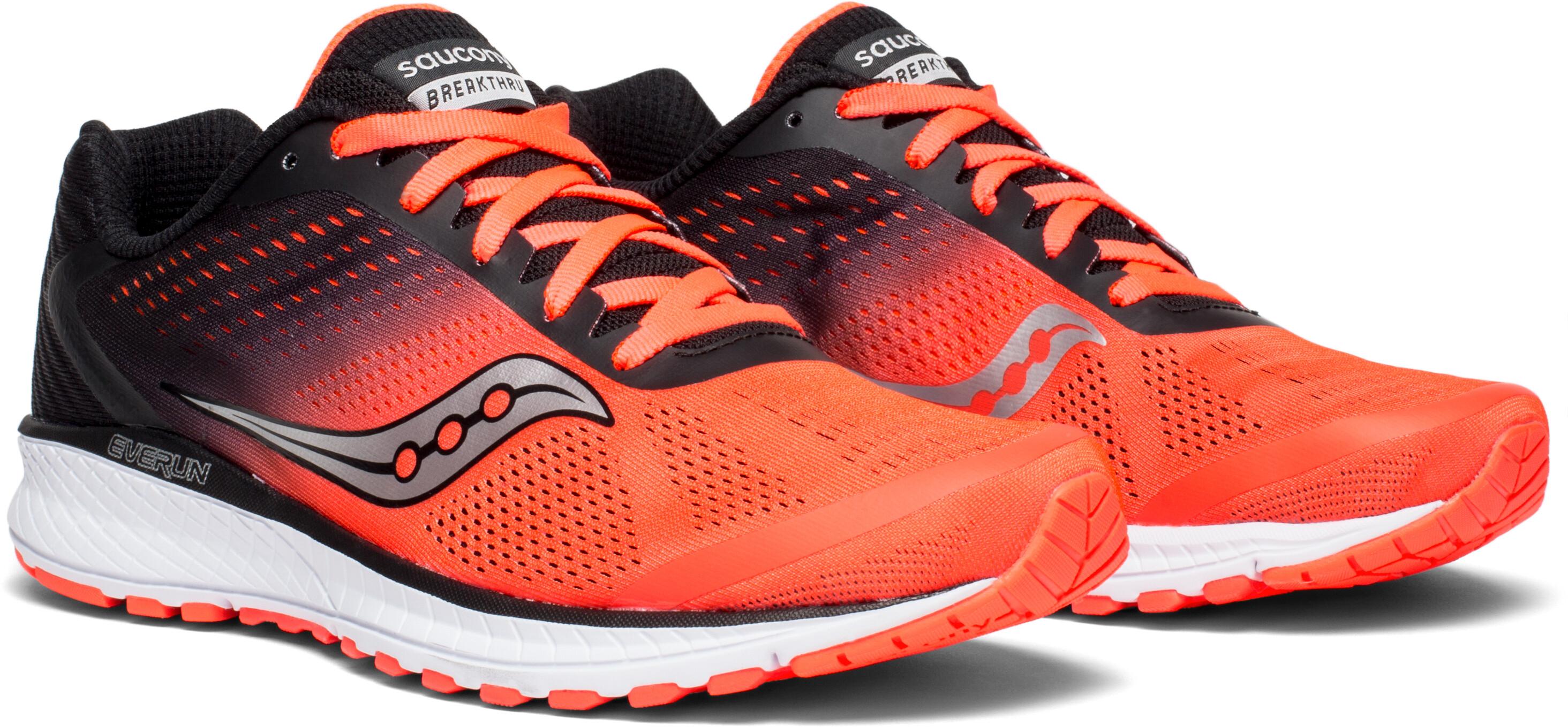 9c1f8e5eaaa saucony Breakthru 4 - Chaussures running Homme - rouge noir ...
